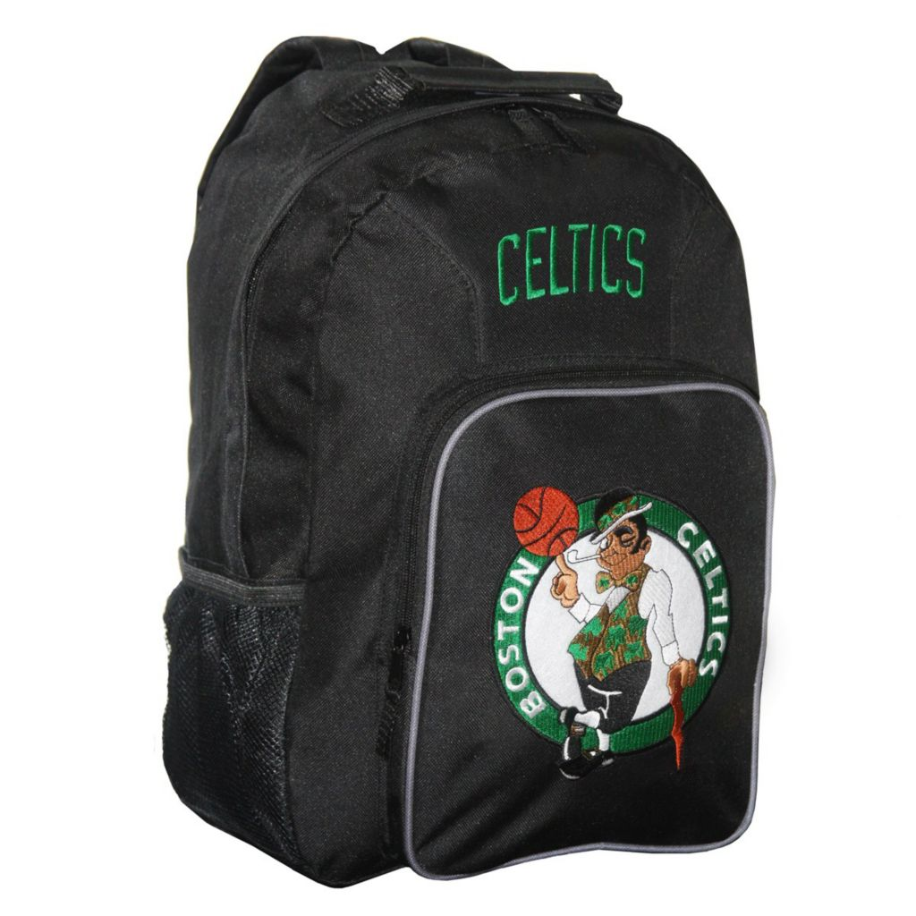 444-659 - NBA Team Logo Backpack w/ Front Organizer