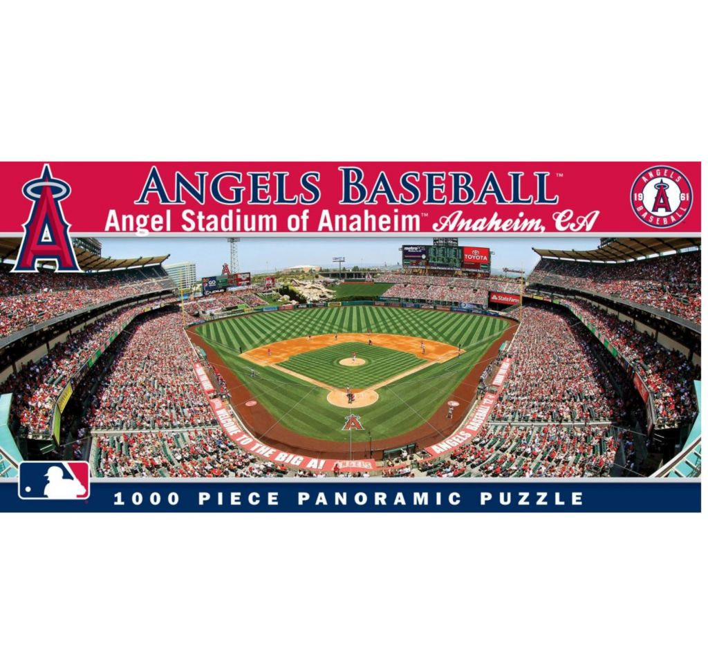 444-691 - MLB 1000-Piece Panoramic Stadium Puzzle