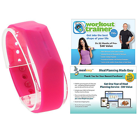 444-717 - Skechers GOwalk™ Bluetooth® Activity & Sleep Monitor w/ MealEasy & Workout Trainer Voucher