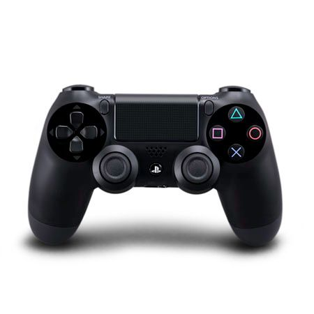 444-762 - PS4 Black Dual Shock Controller