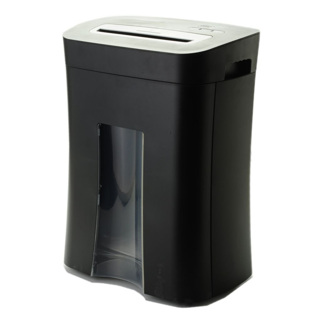 444-777 - Shredder Essentials 10-Sheet Micro Cut Shredder w/ Pullout Basket