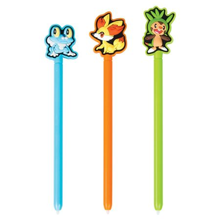 444-785 - Nintendo® 3DS/2DS/DS Pokemon X & Y Stylus Three-Pack