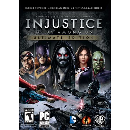 444-797 - Injustice: Gods Among Us Ultimate Edition Video Game