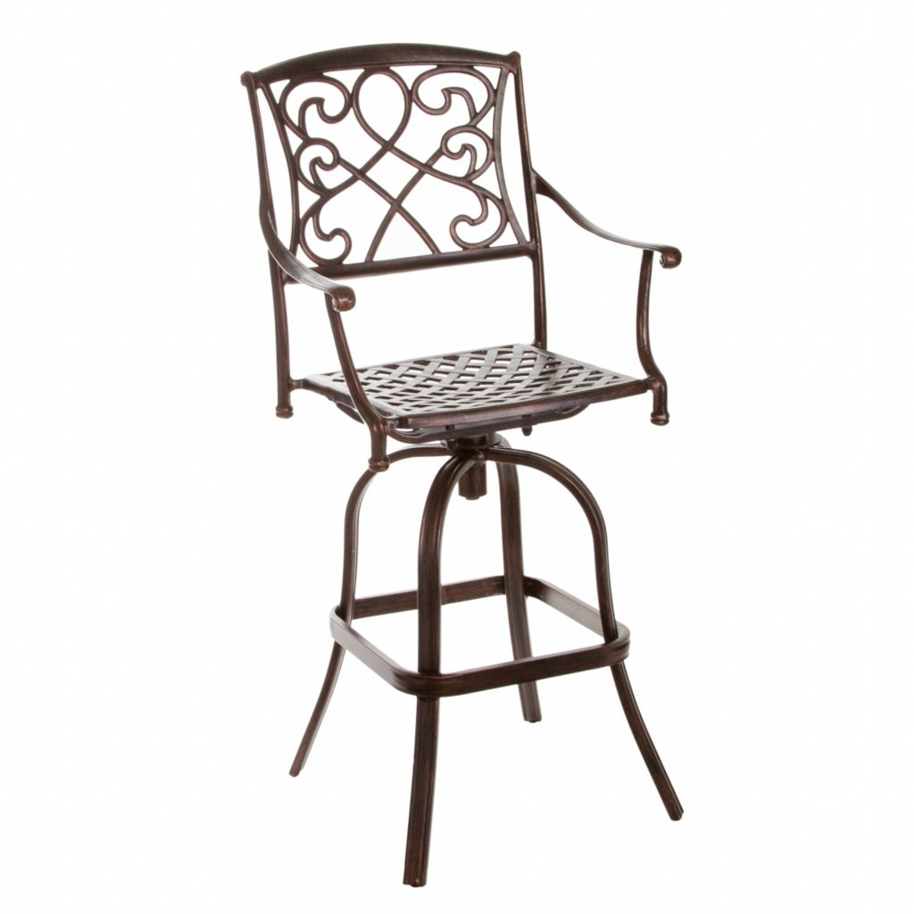 444-808 - Christopher Knight Home™ Sahara Cast Aluminum Bar Stool