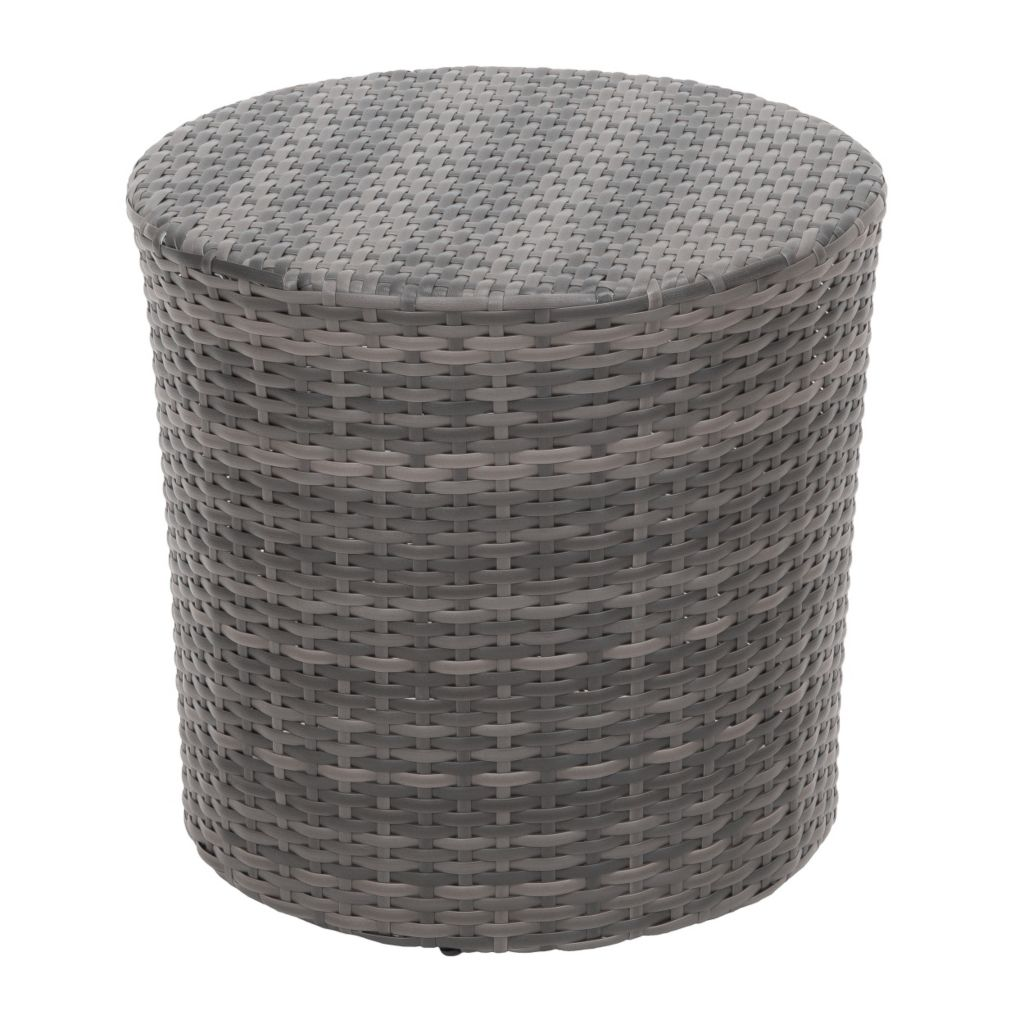 444-830 - Christopher Knight Home™ Keaton Wicker Barrel Side Table