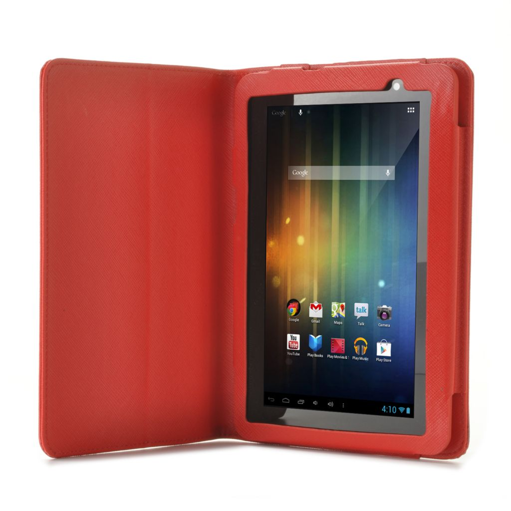 "444-856 - D2® 7"" 4GB Google Certified Android™ 4.1 1GHz Wi-Fi Tablet w/ Case"
