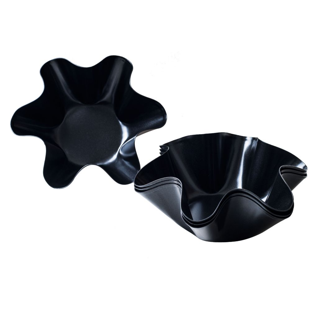 444-857 - Chef Buddy Set of Three Taco Salad Bowl Makers