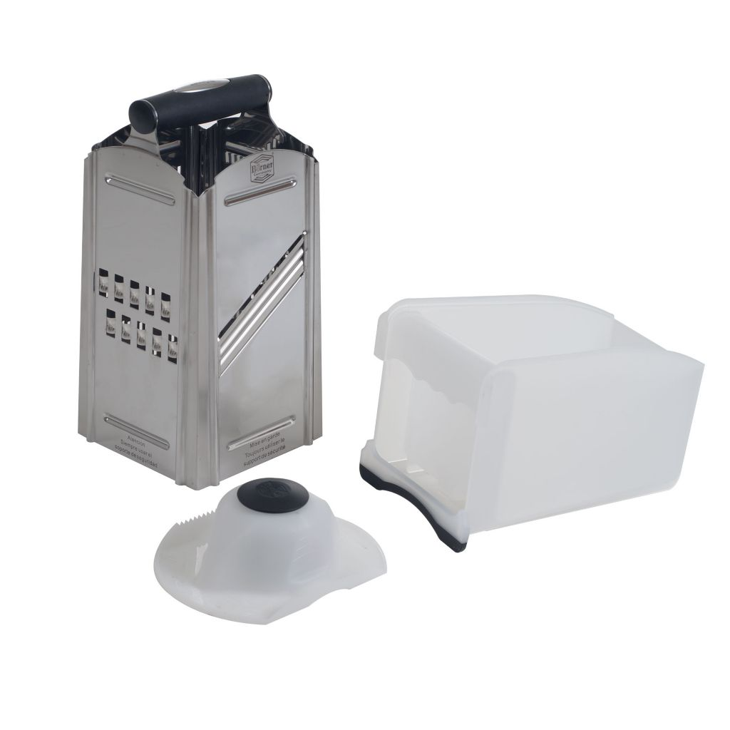 444-860 - Combi Chef Stainless Steel 4-in-1 Food Slicer & Grater