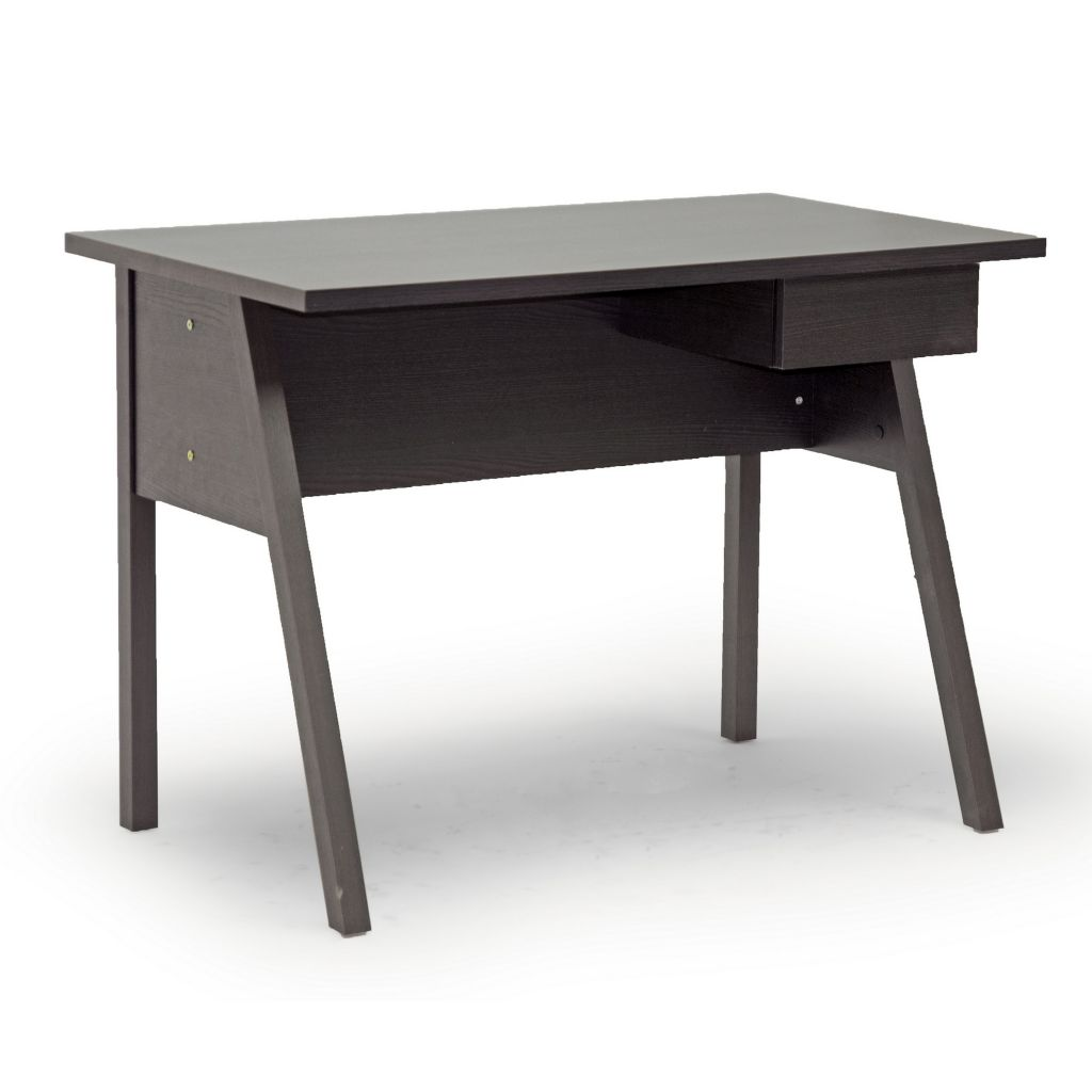 444-880 - Baxton Studio Frommes Dark Brown Modern Desk