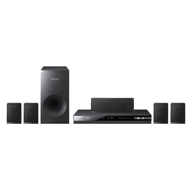 444-897 - Samsung Home Theater System w/ Blu-ray Player - Refurbished