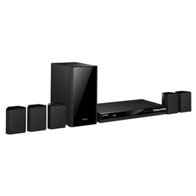 444-900 - Samsung 5.1 Channel Home Theater System w/ Blu-ray Player - Refurbished