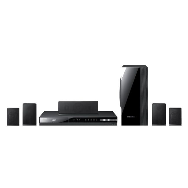 444-903 - Samsung Home Theater System w/ Smart 3D Blu-ray Player - Refurbished