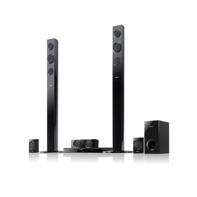 444-904 - Panasonic 5.1 Channel Home Theater System w/ 3D Blu-ray Player