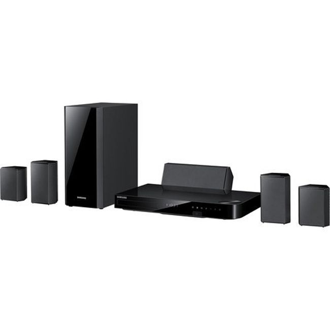 444-909 - Samsung 5.1 Channel Home Theater System w/ Smart Blu-ray Player - Refurbished