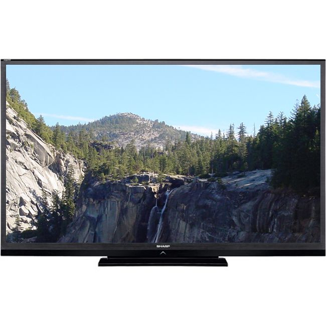 "444-931 - Sharp 70"" 1080p 120Hz LED-Backlit LCD HDTV - Refurbished"