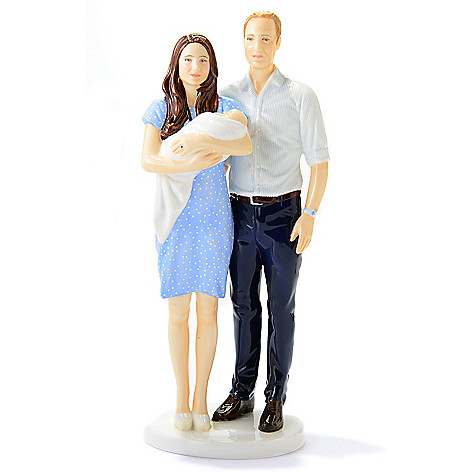 444-951 - Royal Doulton® Prince George ''A Royal Birth'' 10'' Bone China Figurine