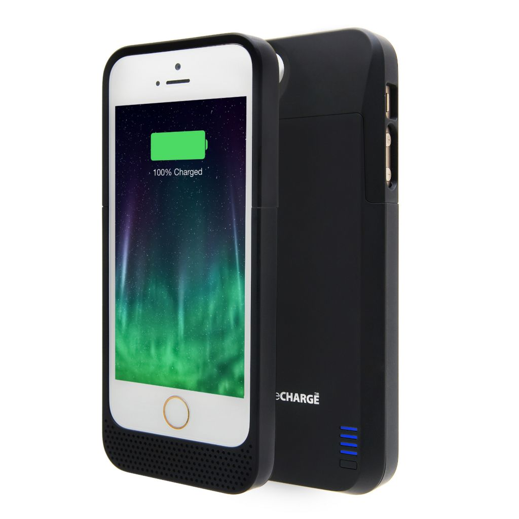 444-956 - LifeCHARGE 2300 mAh Extended Protective Battery Case for Apple iPhone 5/5s