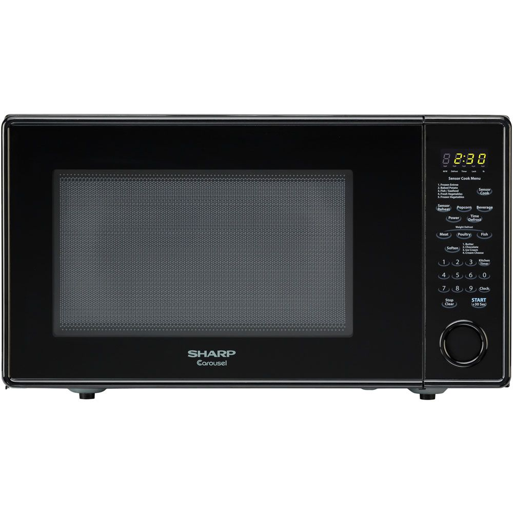 444-991 - Sharp Carousel 1.8 Cu. Ft. 1100W Countertop Microwave Oven