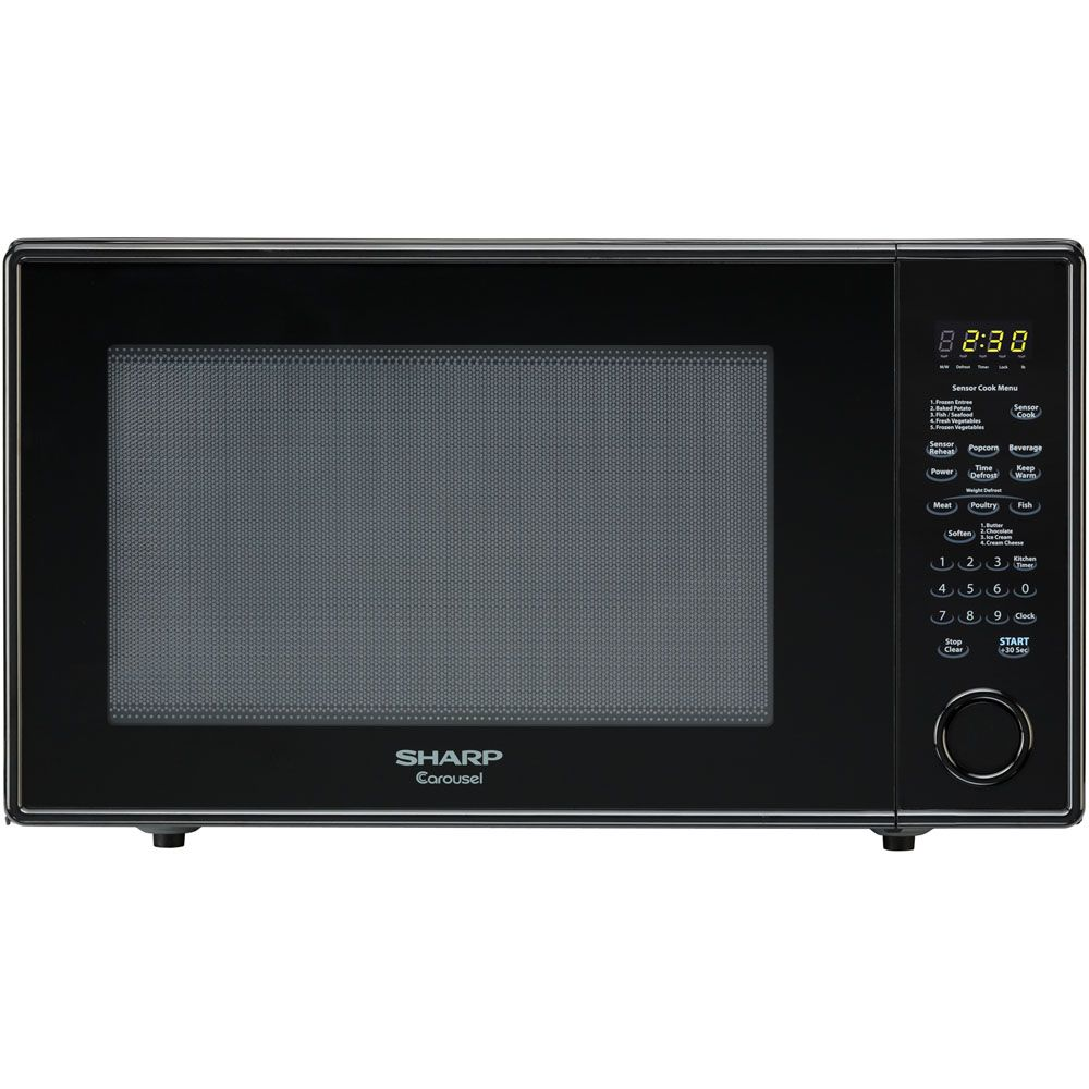 444-992 - Sharp Carousel 2.2 Cu. Ft. 1200W Countertop Microwave Oven