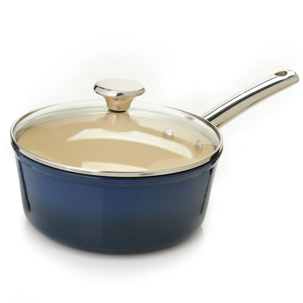 445-023 - Cook's Tradition™ All Season™ Ceramic Nonstick Cast Iron 2.5 qt Sauce Pot w/ Cover