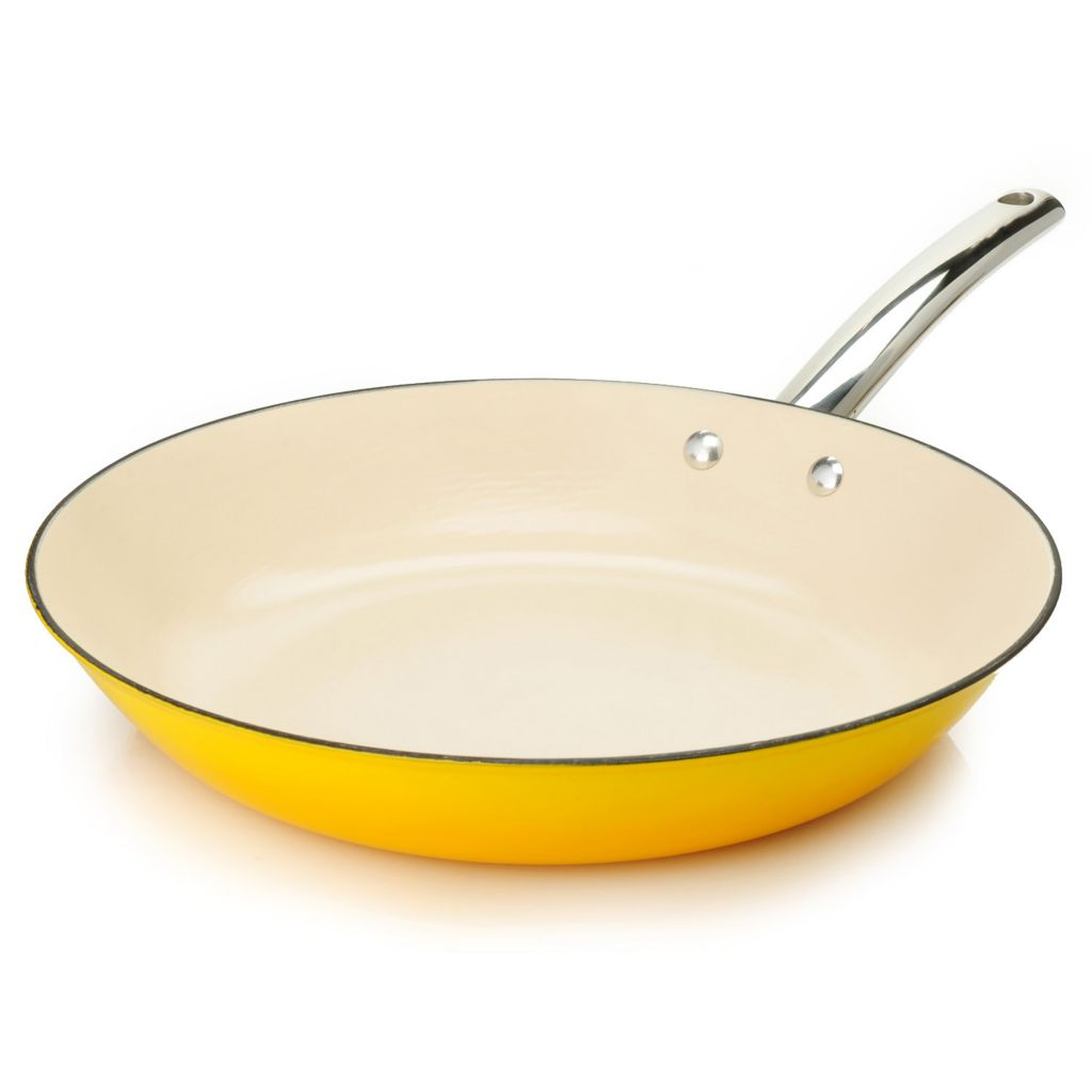 "445-072 - Cook's Tradition™ All Season™ Ceramic Nonstick Lightweight Cast Iron 12"" Fry Pan"