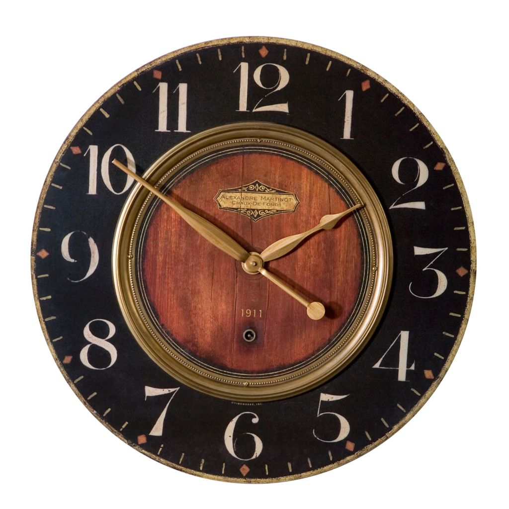 445-081 - Uttermost Alexandre Martinot Wall Clock