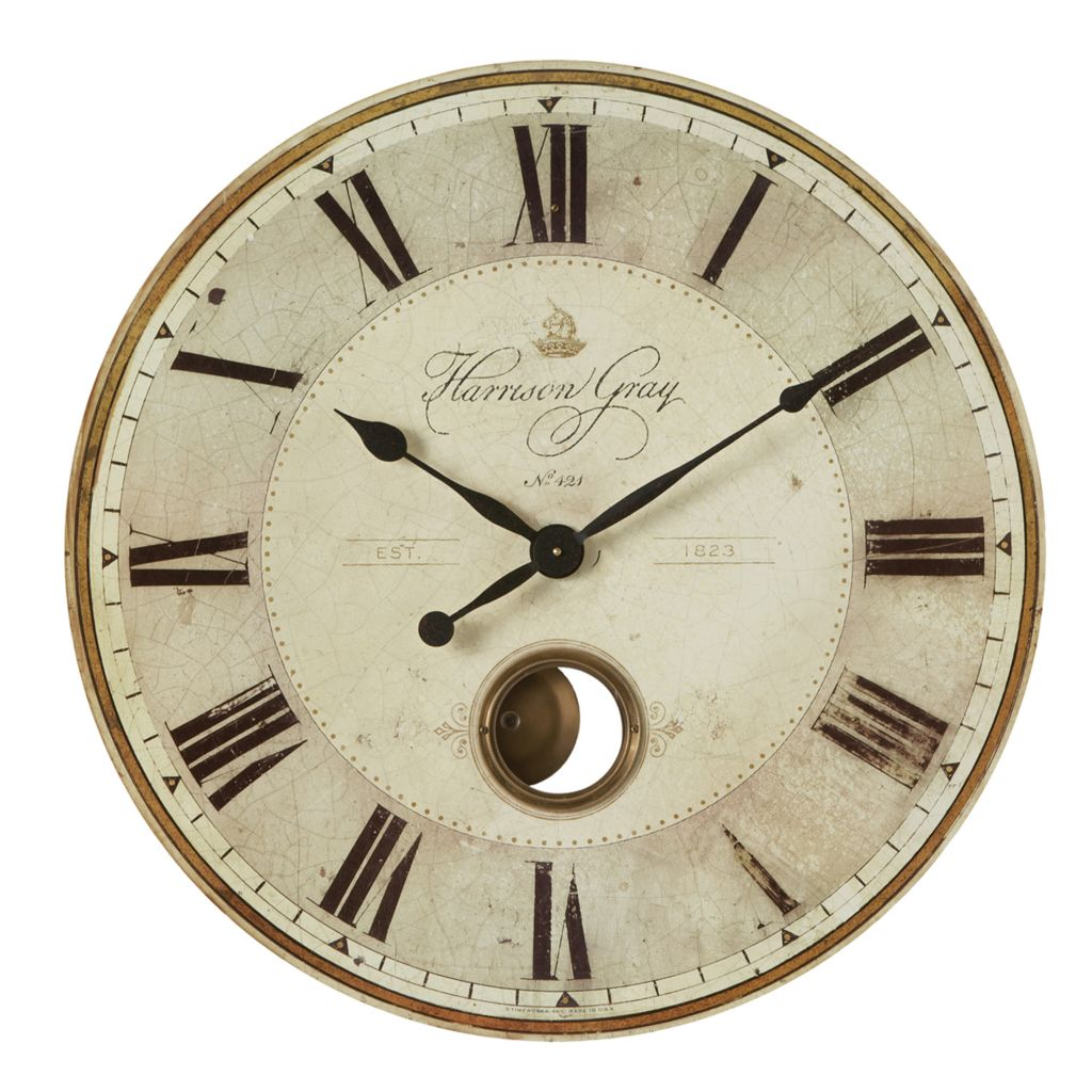 445-084 - Uttermost Harrison Gray Wall Clock