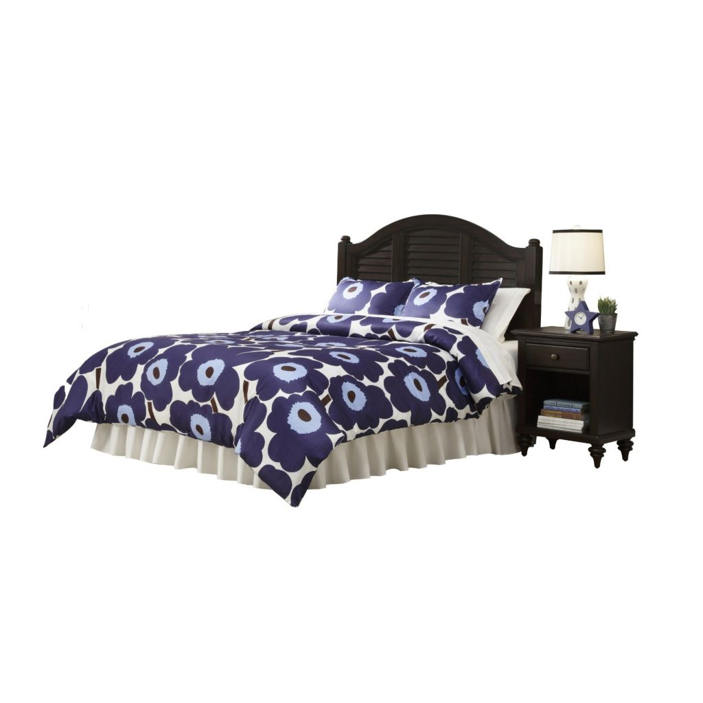 445-127 - Home Styles Bermuda Headboard & Nightstand
