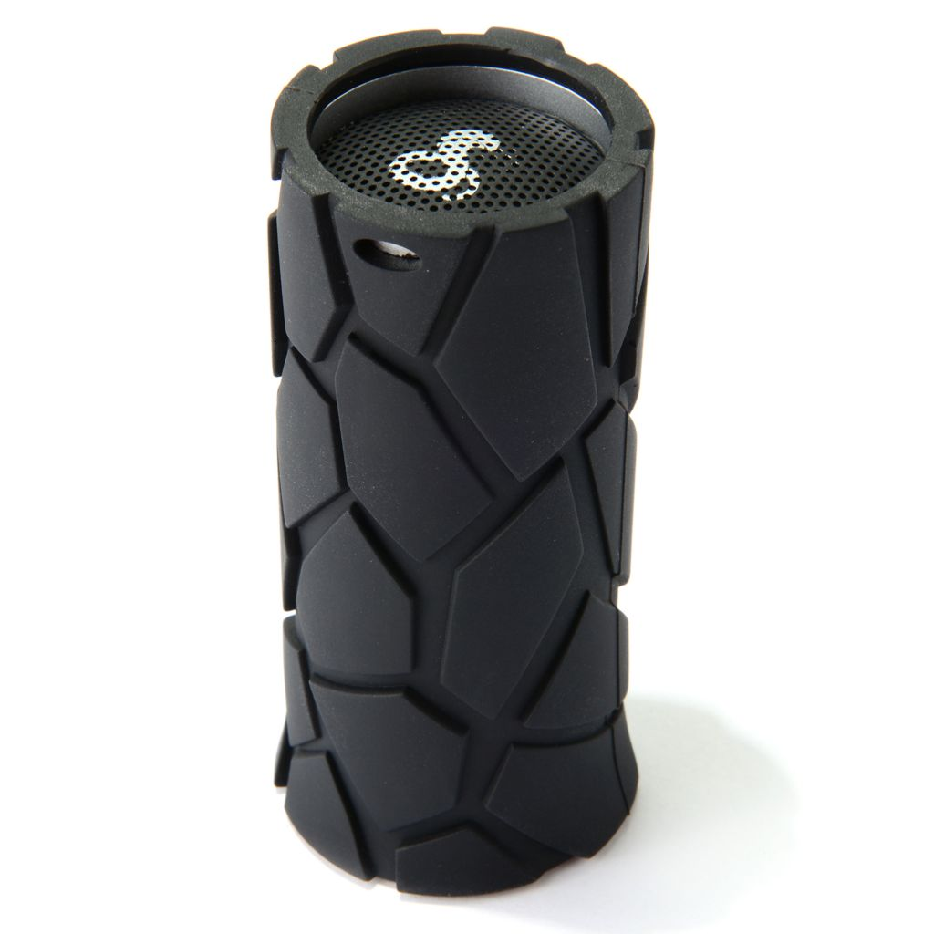445-139 - Cobra® Bluetooth® Airwave™ Mini Water Resistant Rugged Speaker w/ Microphone