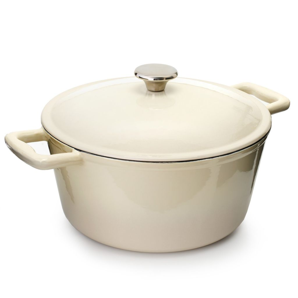 445-145 - Cook's Tradition™ All Season™ Ceramic Nonstick Cast Iron 6 qt Dutch Oven w/ Cover