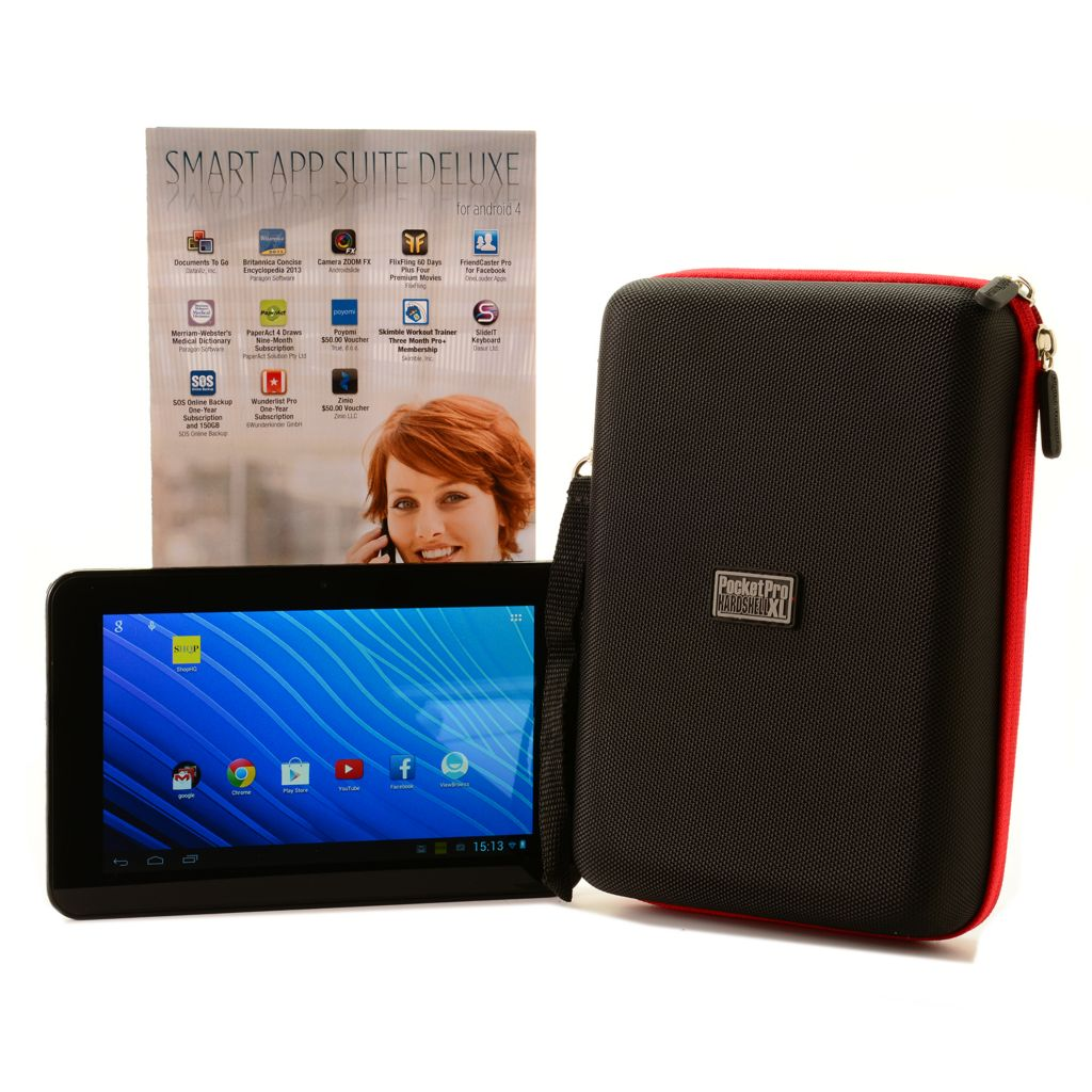 "445-168 - RCA 7"" Dual-Core Google Certified Tablet & Built-in Digital TV Tuner w/ Case & Software"