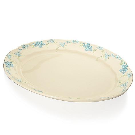 445-187 - Johnson Brothers® Vintage Charm 13.75'' Stoneware Oval Platter