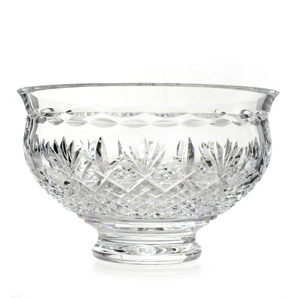 "445-235 - House of Waterford® Killarney 8"" Crystal Footed Bowl"