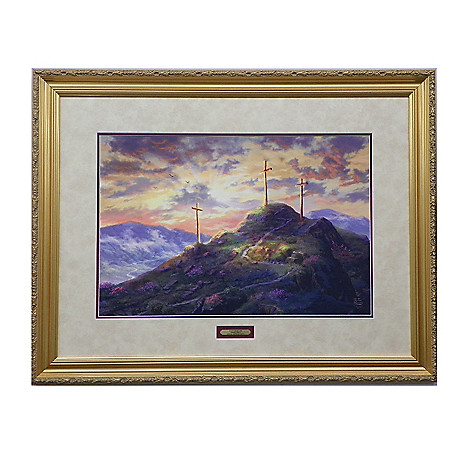 445-268 - Thomas Kinkade ''Remember Me'' Limited Edition Framed Print