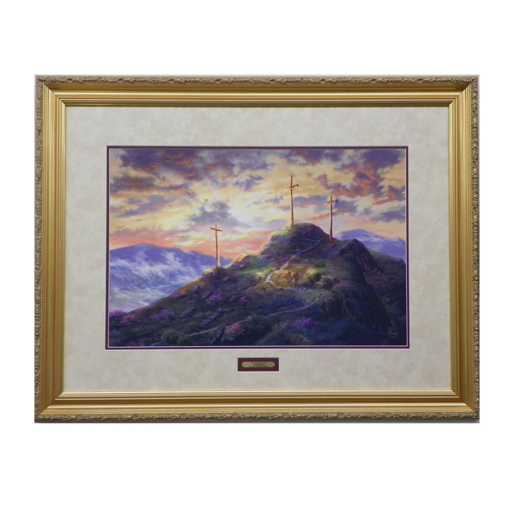 "445-268 - Thomas Kinkade ""Remember Me"" Limited Edition Framed Print"