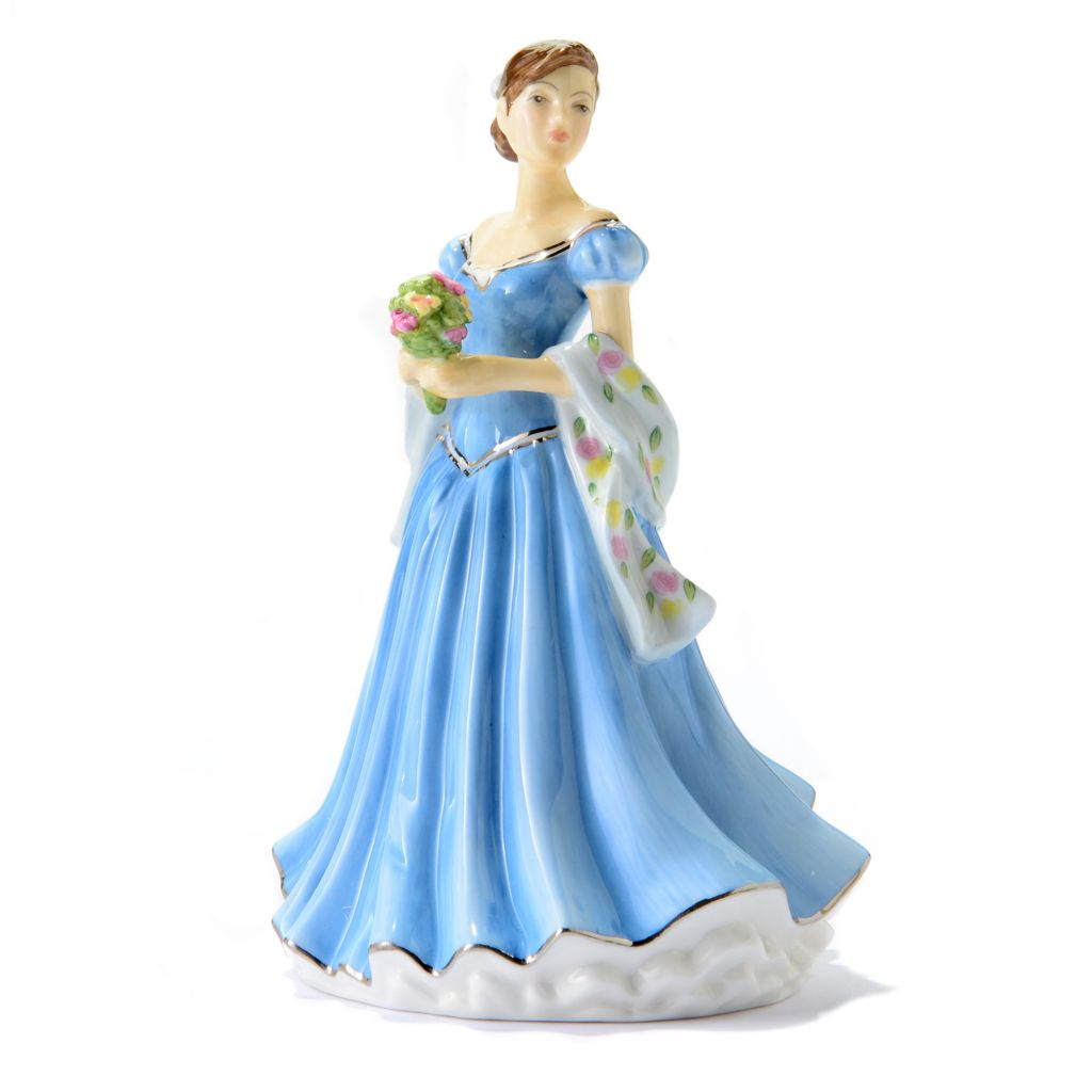 "445-374 - Royal Doulton® Especially for You 6"" Bone China Hand-Decorated Occasions Figurine"