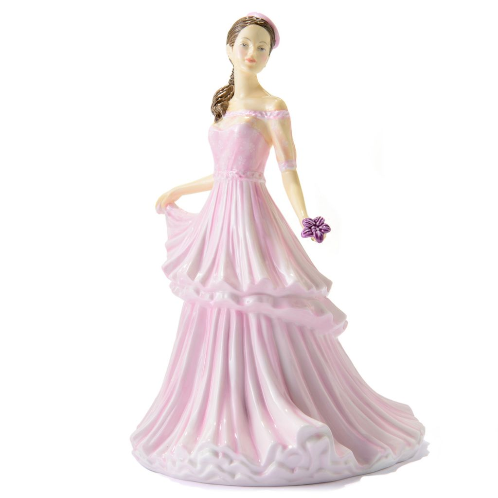 "445-375 - Royal Doulton® Michelle 9.25"" Bone China Pretty Ladies Figurine -Signed"