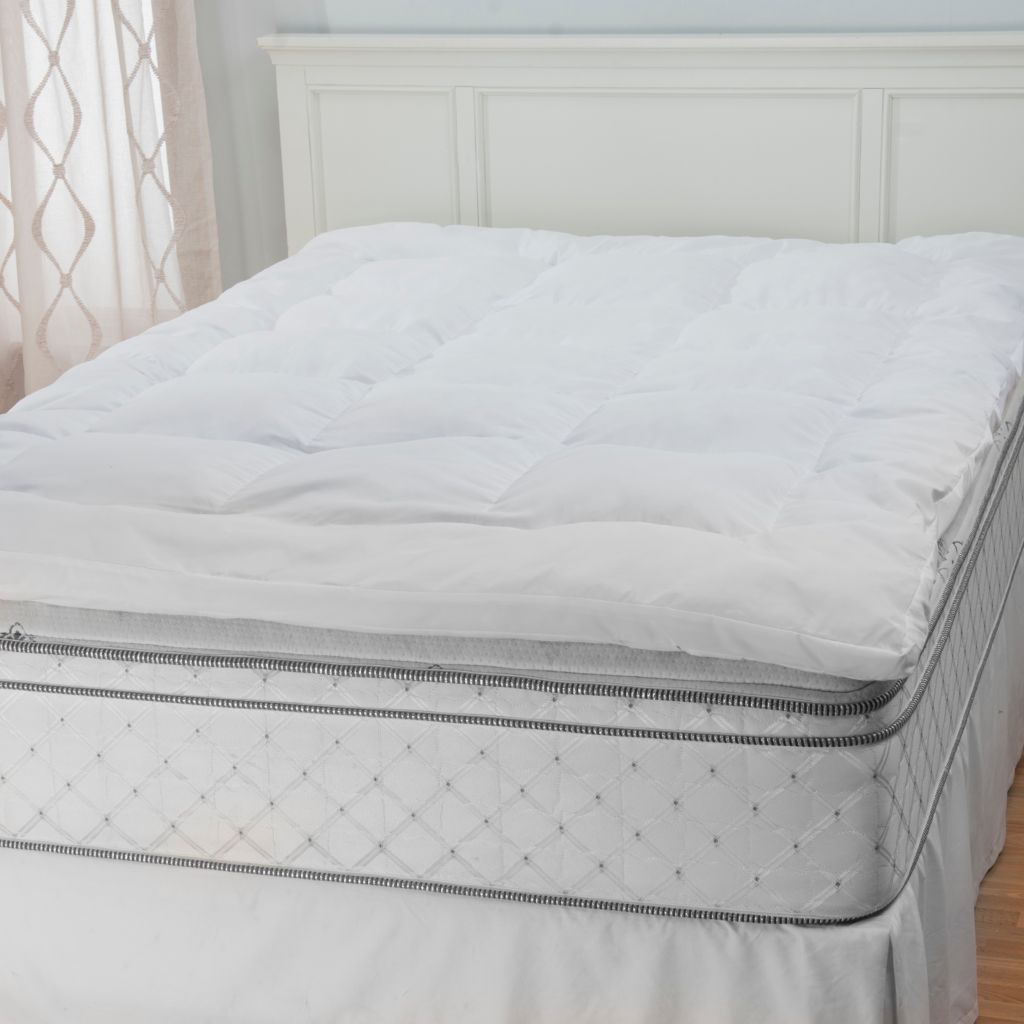 445-406 - North Shore Linens™ Microfiber Gel Memory Foam Mattress Topper