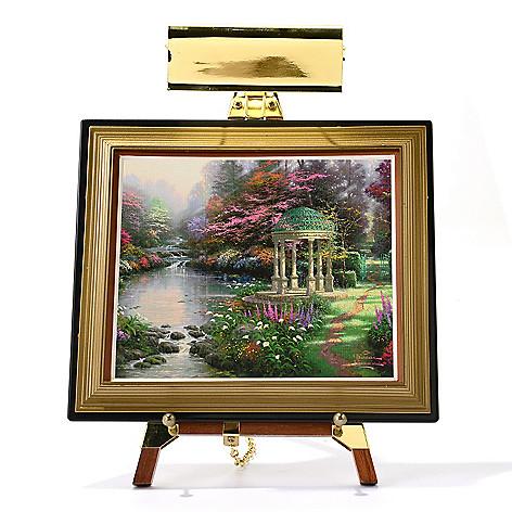 445-414 - Thomas Kinkade Mini Masters® 13-Piece ''Garden Collection'' Set w/ Easel & Keepsake Box