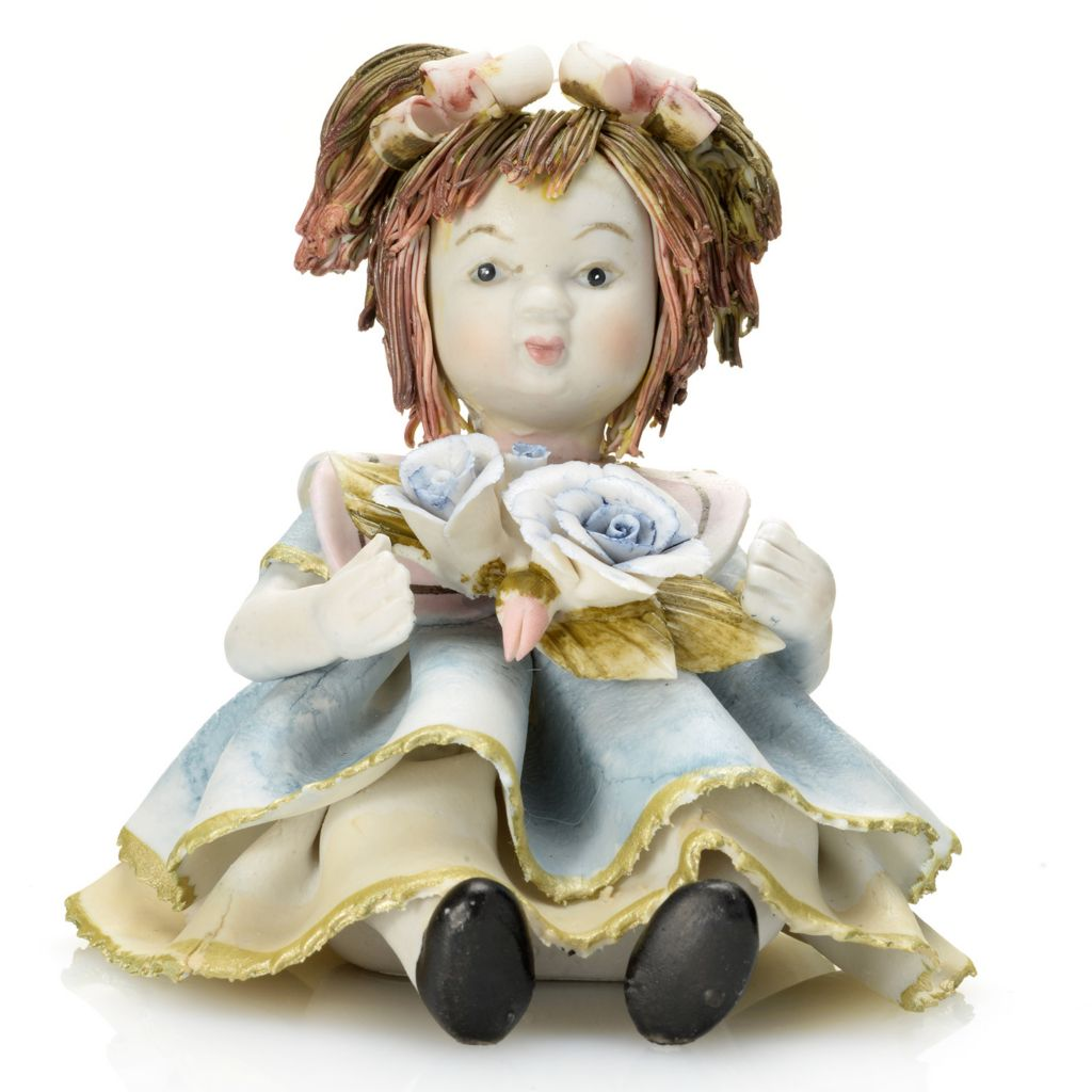 "445-427 - Sorelle® ""Delicate Dolls"" Molly Limited Edition 4.75"" Porcelain Figurine"