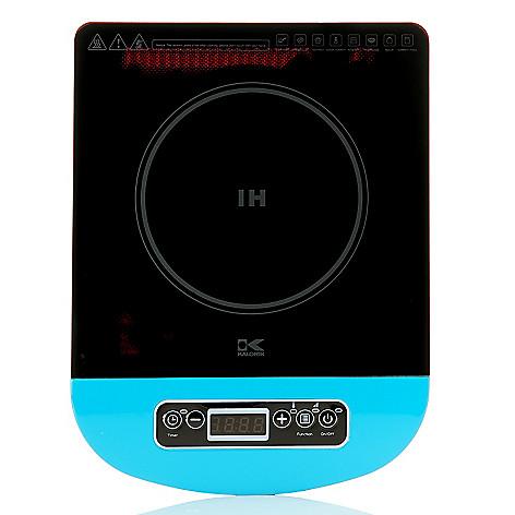 445-477 - Kalorik® 1300W Digital LED Programmable & Portable Induction Cooking Plate