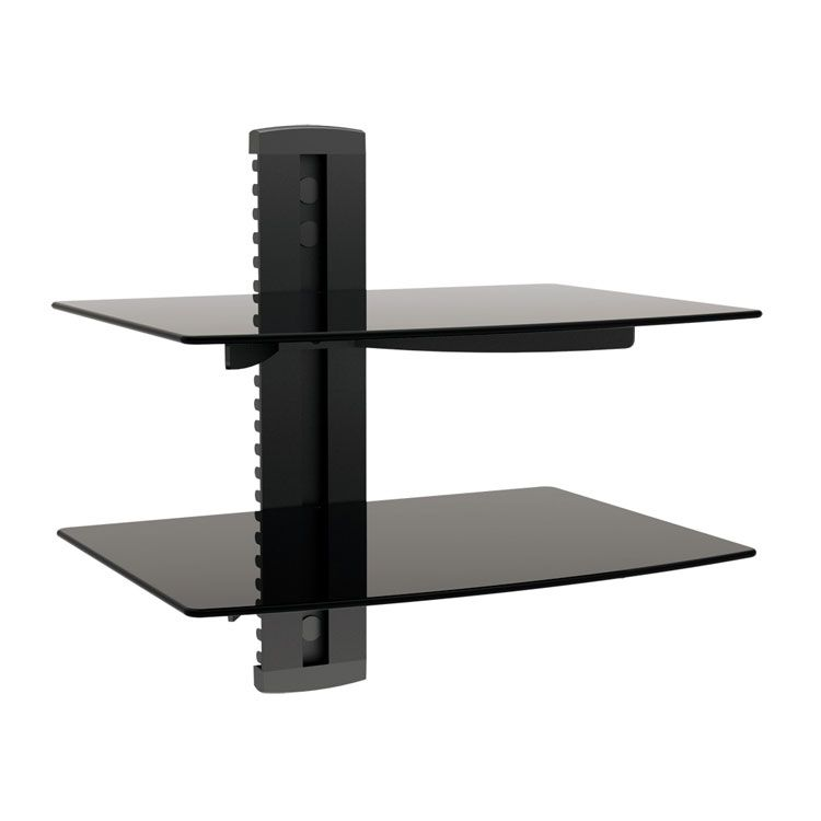 445-482 - Fino Tempered Glass Single or Double Media Shelf