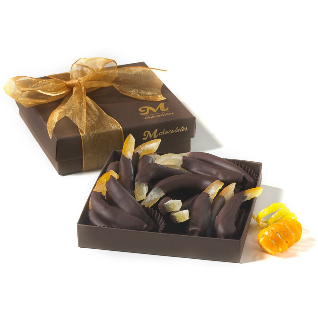 445-496 - Penn Street Bakery 16-Piece Chocolate Covered Citrus Peels