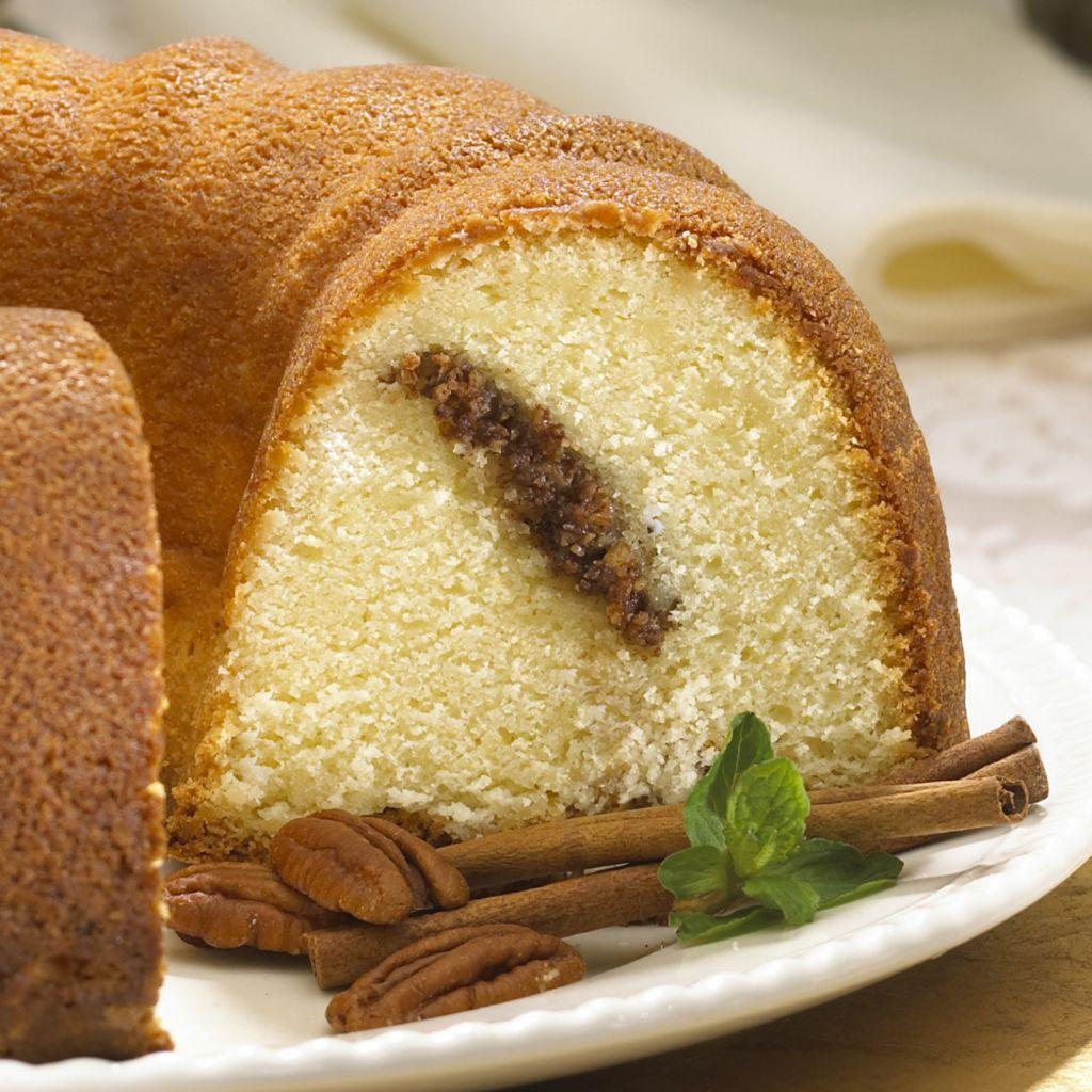 """445-536 - Penn Street Bakery 9"""" Bundt-Style Gourmet Dessert Cake w/ Nuts"""