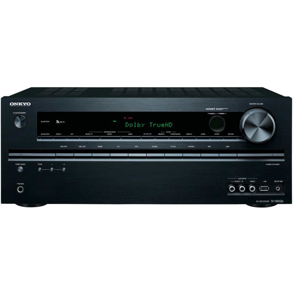 445-549 - Onkyo 7.2-Channel Network Audio/Video Receiver w/ Bluetooth®