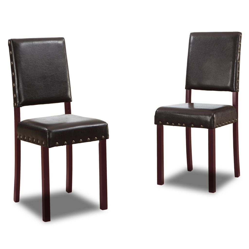 "445-594 - Walter 36"" Set of Two or Four Modern Dining Chairs"