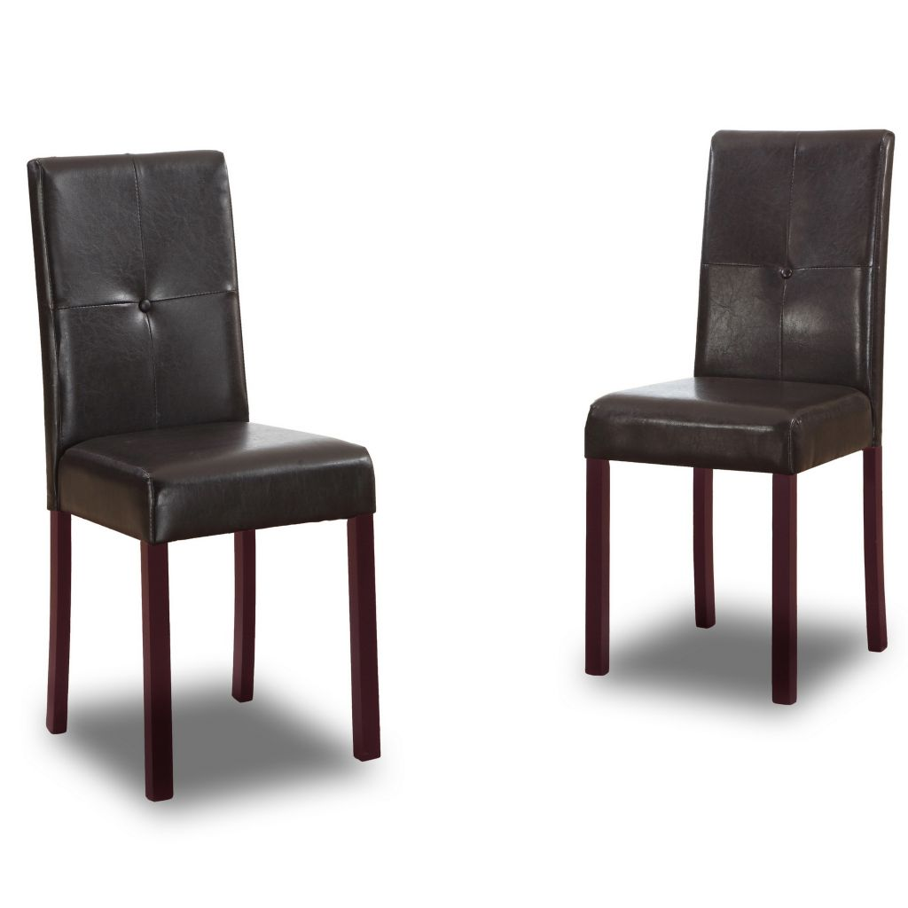 "445-596 - Curtis 35.75"" Set of Two or Four Modern Dining Chairs"