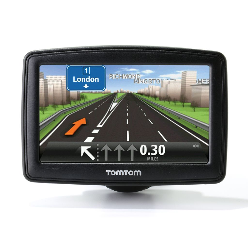 "445-711 - TomTom START 40M 4.3"" LCD Touch Screen GPS w/ Lifetime Map Updates"