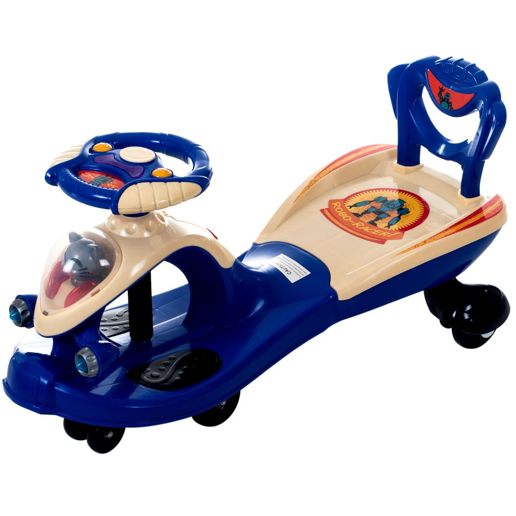 445-713 - Lil' Rider Wiggle Ride-on Car w/ Sound & Light