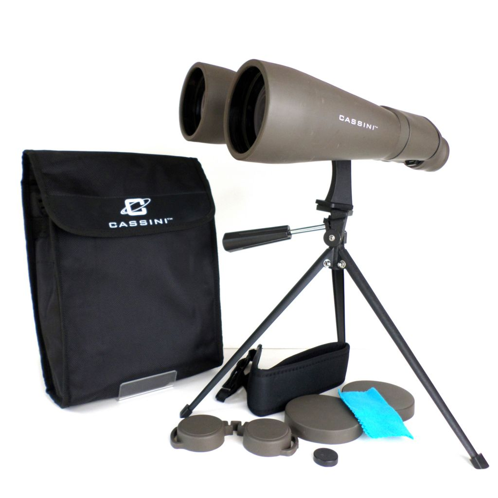 445-797 - Cassini 15x70mm Astronomical Eye Relief Binocular w/ Tripod & Case